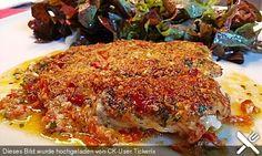 Seelachs mit Tomatenkruste, ein beliebtes Rezept aus der Kategorie Fisch. Chefkoch.de