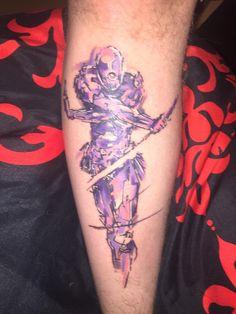 Metal Gear Solid tattoo.