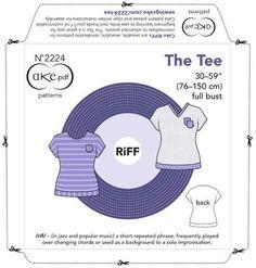 Kostenloses Schnittmuster zum Ausdrucken ❤ T-Shirt ❤ klassischer Schnitt ❤ überschnittene Ärmel ❤ V-Ausschnitt oder Rundhals ❤ Gr. XS-XL ❤ ✂ Nähtalente.de ✂