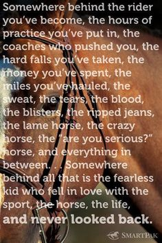 Its not a hobby....it's a lifestyle... This is my favorite quote.#equine and www.USAHorseSource.com