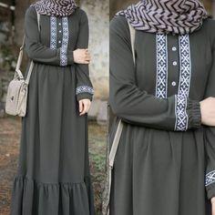 Tall Fashion Tips .Tall Fashion Tips Abaya Fashion, Modest Fashion, Fashion Dresses, Hijab Style Dress, Hijab Outfit, Muslim Women Fashion, Ladies Fashion, Mens Fashion, Fashion Tips