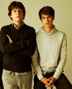 the dudes of The Social Network, particularly andrew garfield!!! by mildred