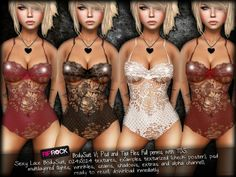 RipRock - BodySuit V1, Psd and Tga Files Full perms with TOS