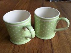GreenGate-2-Mugs-Spot-Green-wie-NEU