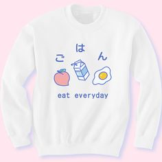 INU INU (@shopinuinu) http://inuinu.com/products/eat-breakfast-sweater?variant=18301330311