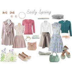 """""""Personalised Early Spring"""" by katieflora on Polyvore"""