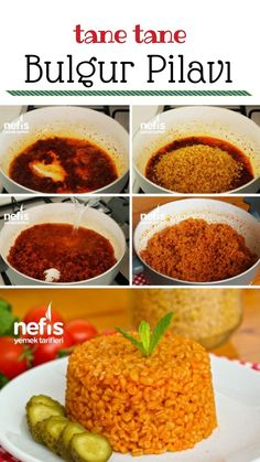 Salçalı Bulgur Pilavı (videolu) – Nefis Yemek Tarifleri -, – Pilav tarifi – The Most Practical and Easy Recipes Turkish Recipes, Ethnic Recipes, Homemade Beauty Products, Mac And Cheese, Chana Masala, Tapas, Food To Make, Food And Drink, Health Fitness