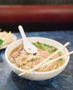 Pho Beef Broth Soup Vietnam Cafe Kansas City