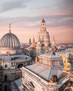 Over the beautiful skyline of Dresden, Germany! Over the beautiful skyline of Dresden, Germany! Continent Europe, Oh The Places You'll Go, Places To Travel, Beautiful World, Beautiful Places, Ligne D Horizon, Dresden Germany, Voyage Europe, Travel Aesthetic