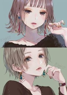 Trendy Drawing Anime Female Face Character Design 21 Ideas #drawing