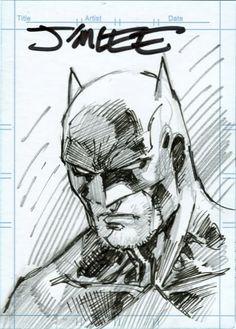 Jim Lee - Batman Card