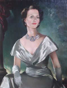 Portrait of Actress Elizabeth Allan. Anna Katrina Zinkeisen (Scottish, 1901-1976). Oil on canvas. Allan's first US/UK co-production and first US production came in 1933, and she worked in the United States under contract with MGM. 1935 was her most...