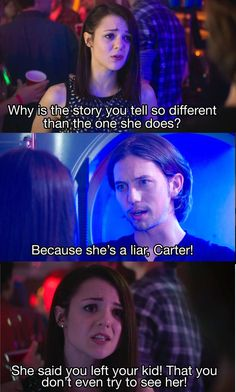 I'm over Jared right about now. — Finding Carter 2x20 | Twitter