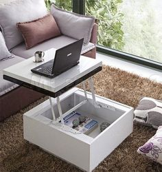 Multi-Functional Furniture Ideas for small flats #multifunctional #smallflat…