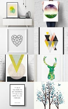 Minimalist Art on etsy by Sandy Rowley on Etsy--Pinned with TreasuryPin.com
