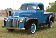 1947 Ford F100 pickup truck...I would drive it every single day!