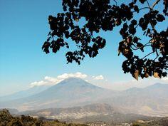 Subiendo el volcan de pacaya