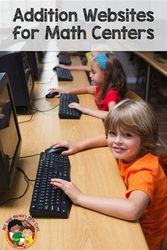 Do you like to use free online games during your math centers? Here are links 4 free games your students can use to practice addition. They can be used during math workshop or send the links home as suggestions for parents.