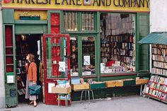 Paris    A veritable bounty of books and bookshops can be found on the Left Bank, Latin Quarter area of Paris, particularly in this Shakespeare and Company