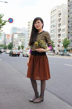 【ストリートスナップ】@Tracy Street of Aoyama, Tokyo Fashionsnap.com | Fashionsnap.com