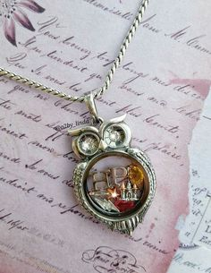 One of the designers made this Harry potter themed locket! Brilliant.