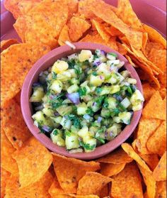 Chayote & Melon Salsa