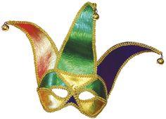 madi gras mask | Flashing Mardi Gras Face Mask | The Haunt Hunters