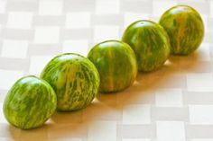 Friday Night Photos: More Green Zebra Tomato Love, with Recipes! (2010 Garden Update #12) | Kalyn's Kitchen®