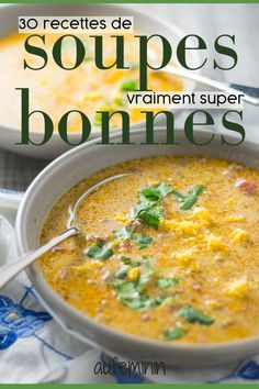 A good soup: something to eat fiber, vegetables, recipes … - detox minceur Healthy Chicken Dinner, Easy Vegetarian Lunch, Healthy Dinner Recipes, Vegetarian Recipes, Vegetarian Sweets, Eat Healthy, Broccoli Soup Recipes, Fall Soup Recipes, Vegetable Soup Recipes