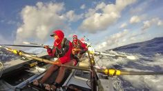 Women Set Record Rowing Pacific Ocean: Read more about their adventure on Bungee Jumping, Photo Caption, Outdoor Woman, Rowing, Mountaineering, Pacific Ocean, Get Outside, Female Athletes