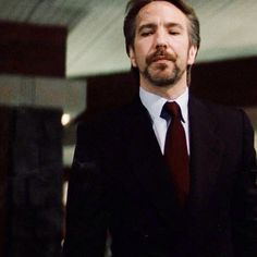 Hans Gruber, the first time I saw him act! He nailed it!