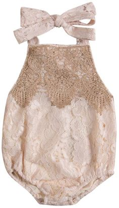 SALE 40% OFF + FREE SHIPPING! SHOP Our Lace Birthday Romper for Baby & Toddler Girls