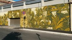 Jungle around Rome (Street art in Magliana)