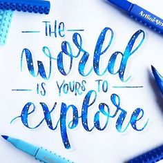 37 Brush Letter Quotes to Practice With - Happily Ever After, Etc. calligraphy quotes 37 Brush Letter Quotes to Practice With - Happily Ever After, Etc. Calligraphy Quotes Doodles, Brush Lettering Quotes, How To Write Calligraphy, Watercolor Lettering, Calligraphy Handwriting, Hand Lettering Quotes, Creative Lettering, Brush Pen Calligraphy, Lettering Ideas