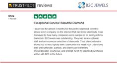 B2C Jewels Review on Trust Pilot by Chris