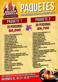 Listos nuestros #BalconesParrilla para la inauguración, contrátalo y vive el Bésibol de manera diferente...