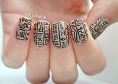 Sandy Egypt for this weeks Nail Art Ideas Linkup theme
