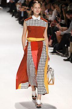 Issey Miyake womenswear, spring/summer 2015, Paris Fashion Week