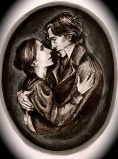 Jane Eyre and Mr Rochester Jane Eyre, Bronte Sisters, Charlotte Bronte, Classic Literature, Classic Books, Historical Art, Deviantart, My Favorite Things, Film Quotes