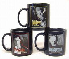 SET of 3 Universal Monster Mugs, Dracula, Mummy and Frankenstein by Applause, http://www.amazon.com/dp/B001M2DZV6/ref=cm_sw_r_pi_dp_l-pmrb03SQN25