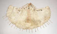 American Indian Art:Beadwork, A SIOUX QUILLED HIDE MODEL TIPI. . c. 1880. ...