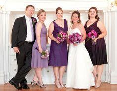 Mix-Matched Bridesmaid Dress vs. Matching? :  wedding Bridal Party