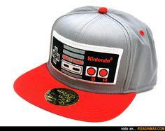 Gorras originales: Nintendo.