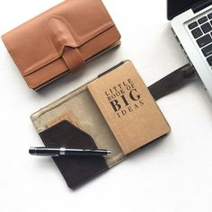 USB Journal Deep Brown
