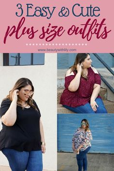 Easy & Cute Plus Size Outfits | Dia & Co Plus Size Clothing Subscription | Plus Size Outfits // Beauty With Lily, A West Texas Beauty, Fashion & Lifestyle Blog