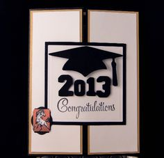 Gatefold Grad card by jasonw1 - Cards and Paper Crafts at Splitcoaststampers