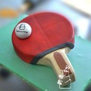 table-tennis-3Dcake-make-by-penang-swens-homemade-cake