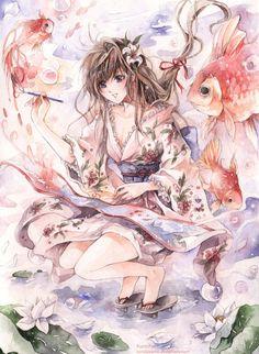 Draw a new world. by kandasama.deviantart.com