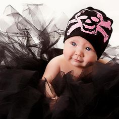This. This is it right here. Baby J will be a punk rock princess just like Auntie!