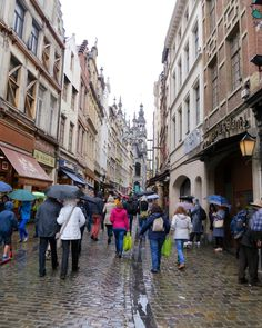 Street to Grand Place, Brussels - Belgium